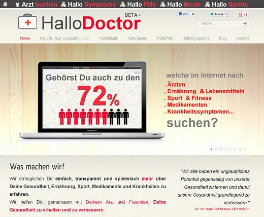 HalloDoctor will mit ganzheitlichem Gesundheitsansatz überzeugen