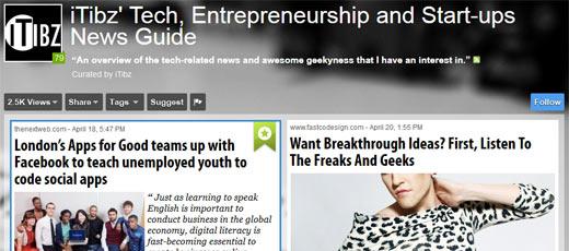 20 großartige Themen-Boards für Startups und Entrepreneure bei Scoop.it