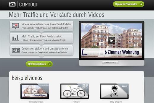 Vertonte Videos aus Bildern mit clipnow: Schnell und preiswert