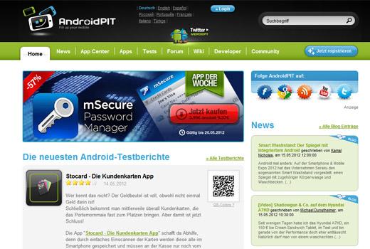 Ein Hidden Champion aus Berlin: AndroidPit begeistert die weltweite Androidszene