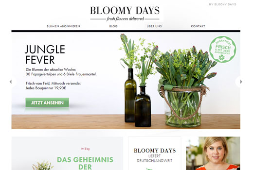 5 neue Start-ups: Bloomy Days, Yorxs, Dogprofile, gamespipe, zeitfest