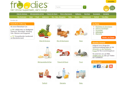 froodies ist insolvent