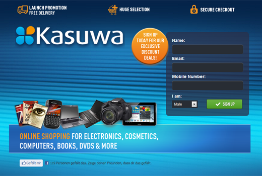 Rocket Internet startet Amazon-Kopie Kasuwa in Nigeria