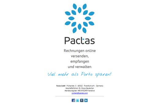 Pactas 2.0: Gescheitertes Rechnungs-Start-up erlebt zweiten Frühling