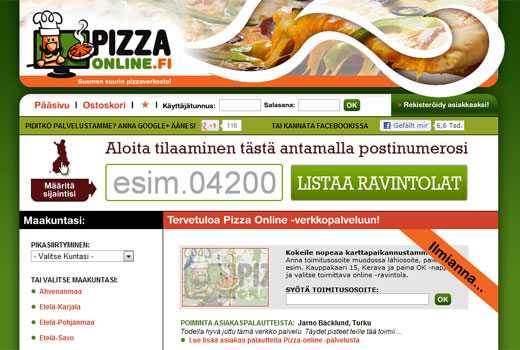 Kurzmitteilungen: Delivery Hero, Pizzaonline.fi, Yoom, ElitePartner.de, Sunbonoo