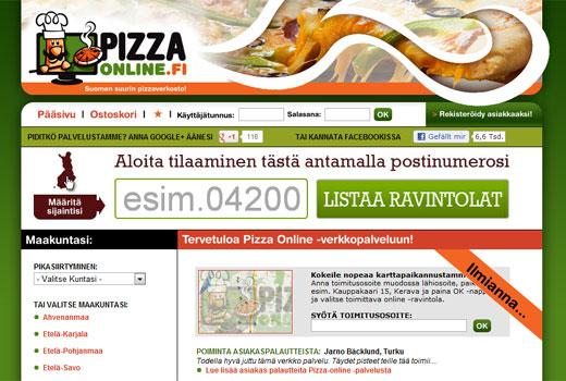 Kurzmitteilungen: Delivery Hero, Pizzaonline.fi, Yoom, ElitePartner.de, Sunbonoo