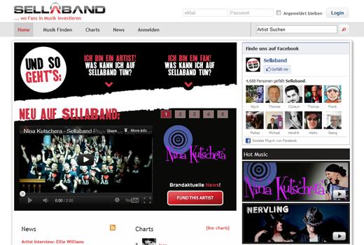 Media Ventures investiert in Crowdfundingdienst SellaBand
