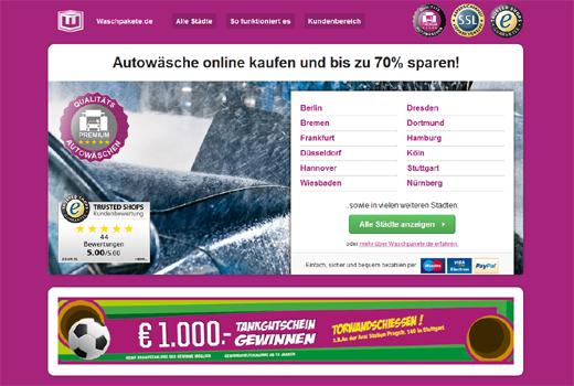 netStart Venture investiert in Rabattdienst waschpakete.de