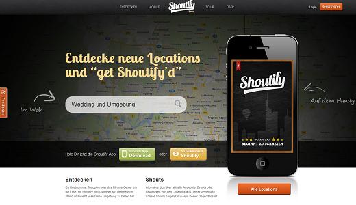 Mit Shoutify neue Locations in der Umgebung entdecken