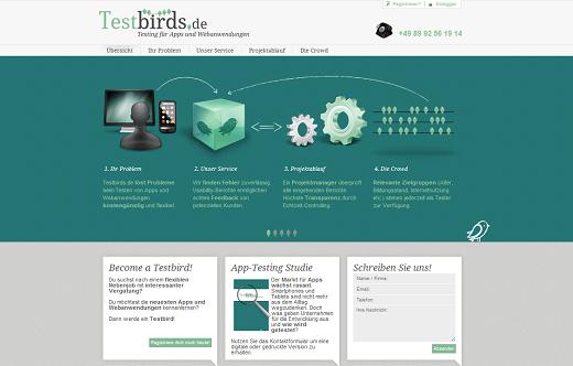 Mit Testbirds.de Webseiten und Apps im Schwarm testen lassen