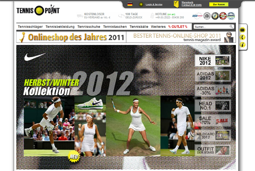Tennis-Point sammelt Millionenfinanzierung ein