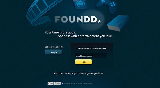 Mit foundd personalisierte Film-Empfehlungen bekommen