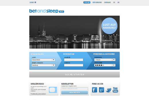 bet and sleep