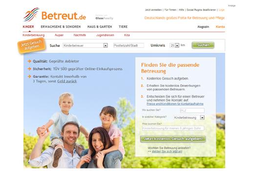 Care.com übernimmt betreut.de