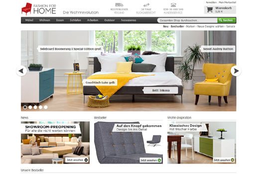 Acton Capital investiert in FashionForHome – Rocket Internet steigt aus