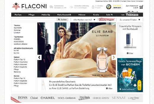 Flaconi sammelt erneut Kapital ein – Paua Ventures und Co. investieren in Online-Parfümerie