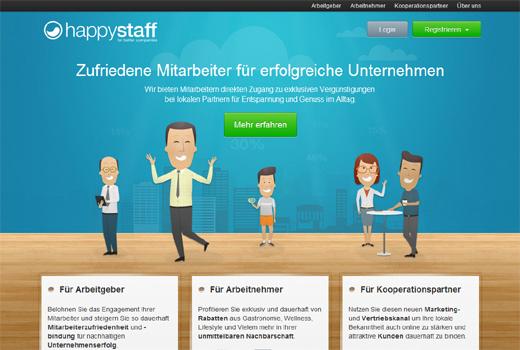 Mitarbeitervorteile: netStart Venture investiert in happystaff – Winrar steigt bei Givanto ein