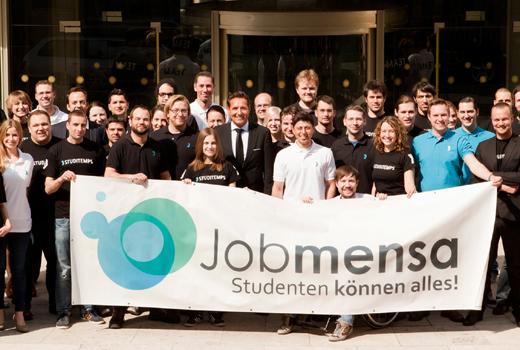 Umsatzwachstum von 700 %: Das Konzept von Jobmensa und Studitemps funktioniert