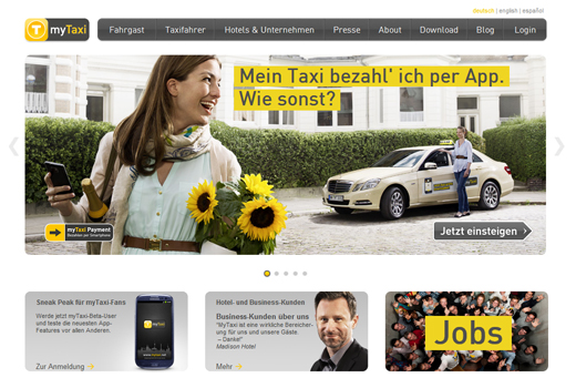 Disruptive Innovations – MyTaxi tötet den Taxifunk