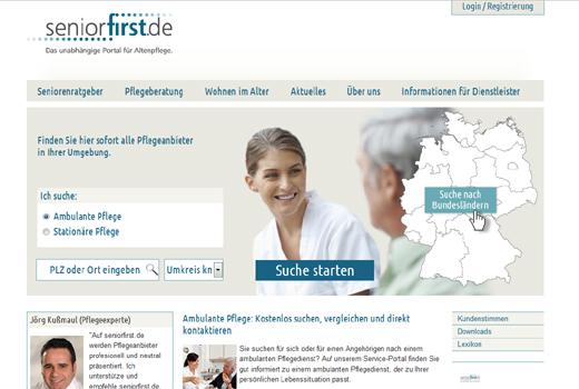 Kurzmitteilungen: seniorfirst.de, Wohnen-im-Alter.de, Catagonia, Progression, kaufDa, blogage