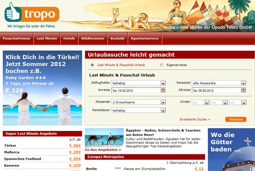 ProSiebenSat.1 übernimmt opodo-Tochter tropo