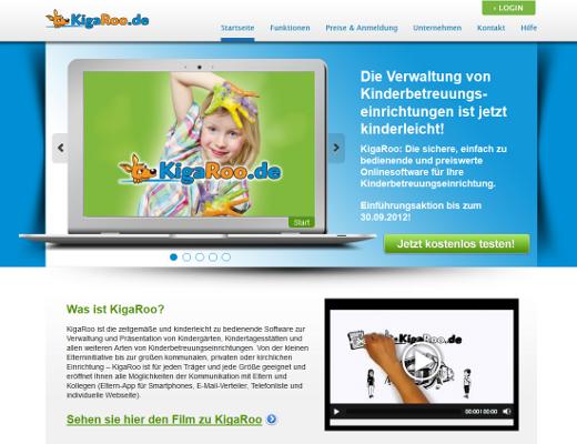 KigaRoo: Online-Software für Kinderbetreuungseinrichtungen