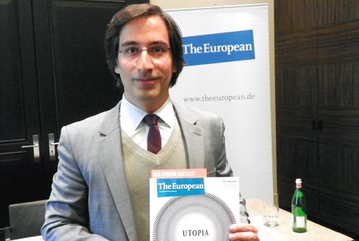 """""""Das Heft erwirtschaftete bereits einen Gewinn"""" – Alexander Görlach von The European"""