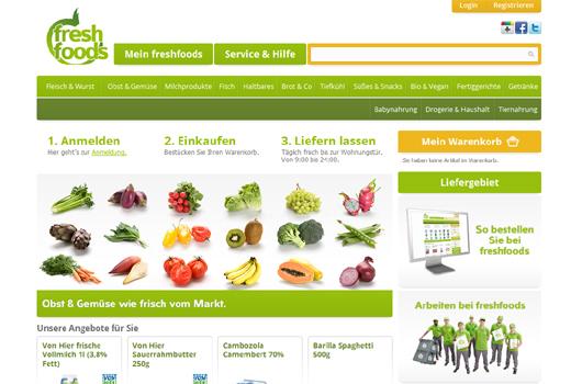 freshfoods beliefert München mit Lebensmitteln aller Art