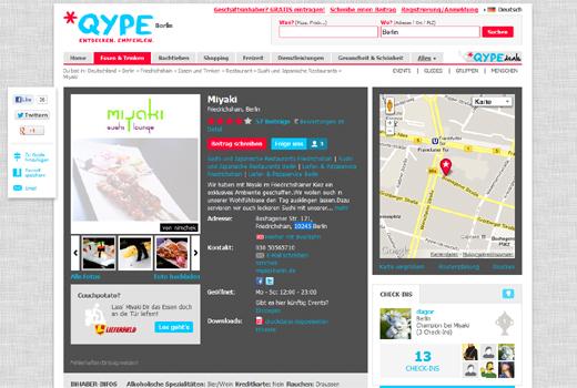 Lieferheld sticht Lieferando bei Qype aus