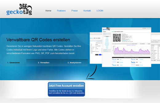 QR Code-Marketing mit Geckotag