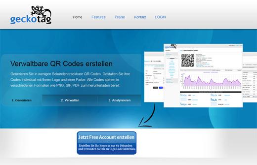 QR Code-Marketing mit Geckotag