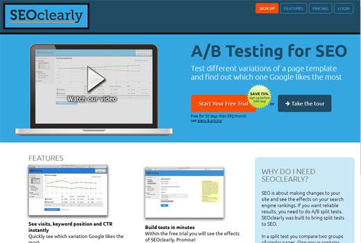 SEOclearly macht direkte A/B-Tests auf Google ohne Wartezeit möglich