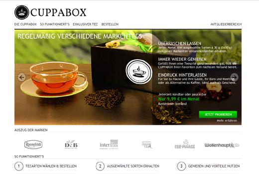 5 neue Start-ups: Cuppabox, Serfinda, Eisenhower, Frischediät, JuwelKerze