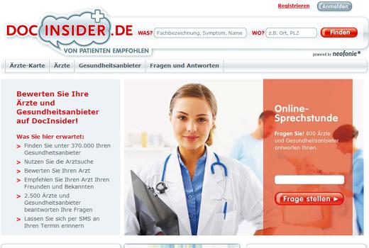 DocInsider sammelt Kapital ein – Arztbewertungsdienst will Vertrieb ausbauen