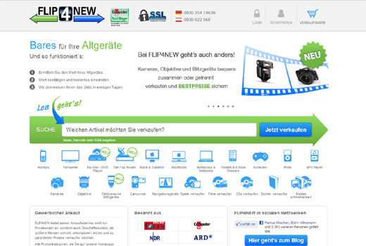 Flip4New statt reBuy: Media-Saturn steigt endlich ins Re-Commerce-Geschäft ein
