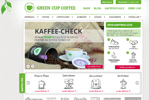 Kurzmitteilungen: Green Cup Coffee, ADVANCE – Pitching Day 2012, deGUT