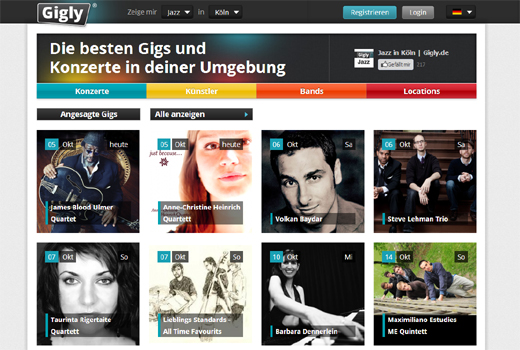 5 neue Start-ups: Gigly, Jobs for Friends, Heldenkind, TeamStars, Crabstyle