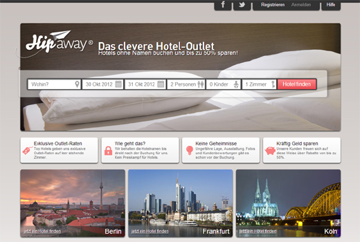 4 neue Deals: Hipaway, doctape, Groupon, Next GFI