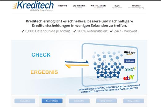 Kurzmitteilungen: Kredito, Bergfürst, Oneview, SevenSnap