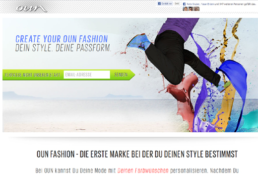 Start-up-Radar: oun fashion