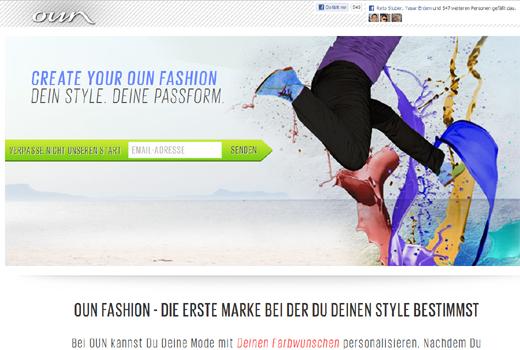 Start-up-Radar: oun fashion