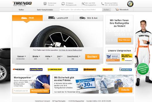 Verlegerfamilie Jahr investiert in Reifen-Shop Tirendo