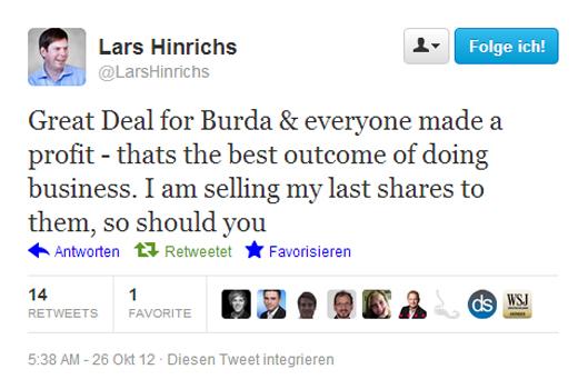 147,3 Millionen Euro: Burda peilt Übernahme von Xing an