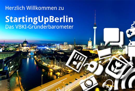"""Jetzt mitmachen: VBKI-Gründerbarometer """"StartingUpBerlin"""""""