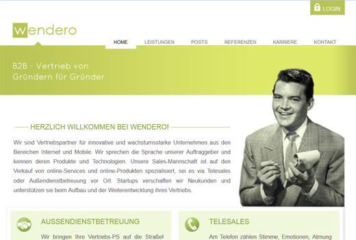 wendero bietet Start-ups Unterstützung im Vertrieb