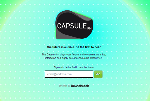 Start-up-Radar: capsule.fm