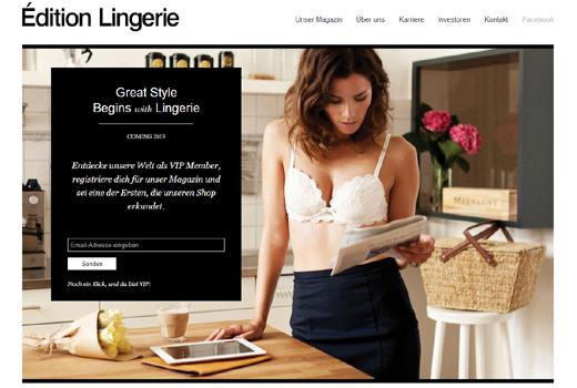 Start-up-Radar: Édition Lingerie