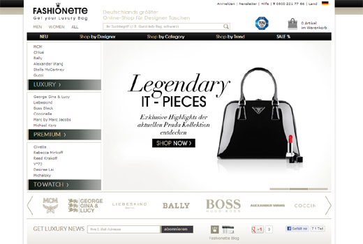 Modische Übernahme: Fashionette schluckt Luxusbabe