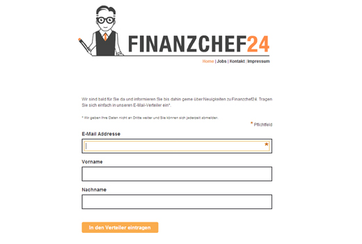 Start-up-Radar: Finanzchef24
