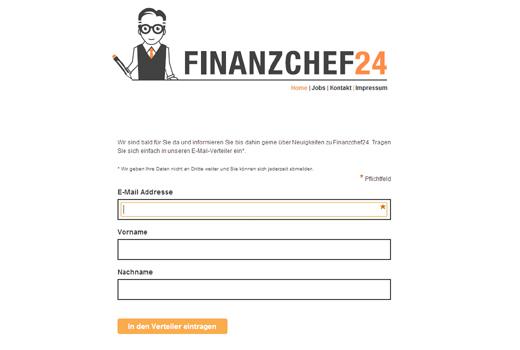 Start-up-Radar: Finanzchef24